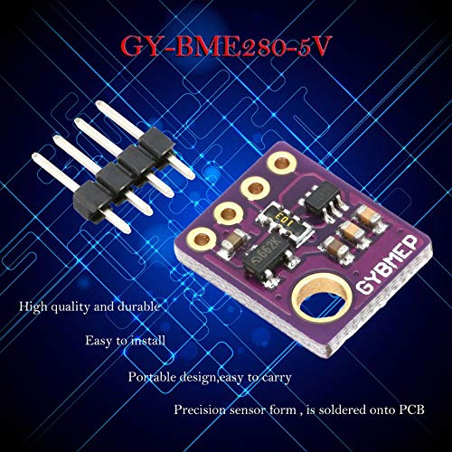 ouying1418 GY-BME280-5V Sensor SPI Humidity Temperature Barometric Pressure Sensor Module