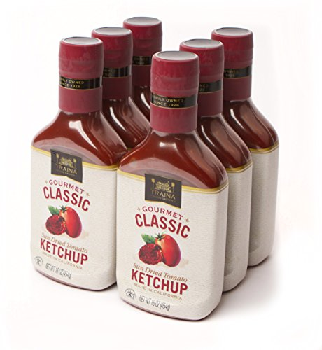 Traina Home Grown Classic Sun Dried Tomato Ketchup Case of 6