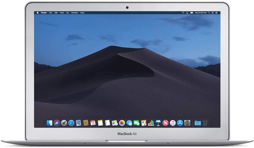 Apple MacBook Air MF068LL/A 13.3in Laptop, Intel Core i7 1.7 GHz, 8 GB RAM, 500 GB SSD (Renewed)