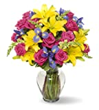 Best Flowers - Benchmark Bouquets Joyful Wishes, With Vase Review