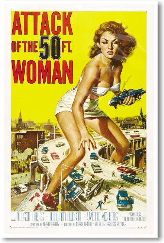 (Attack of the 50 Ft. Woman - NEW Vintage Movie Poster)