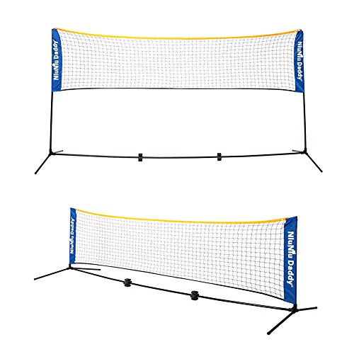 Driveway Tennis Net (Niuniu Daddy 10-foot Portable Tennis Net)