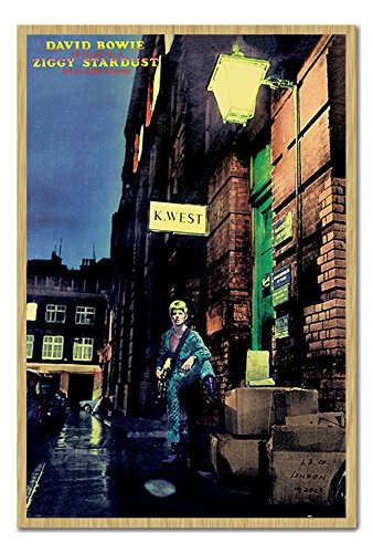 David Bowie Ziggy Stardust Album Cover Poster Beech for sale  Delivered anywhere in Canada