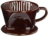 Kalita Ceramic Coffee Dripper 101 Lotto Brown # 01003