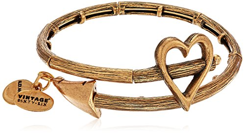 Alex and Ani Cupid's Arrow Rafaelian Gold Wrap Bracelet ()