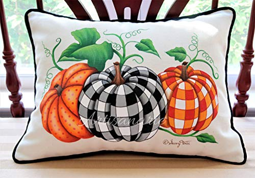 Decorative Painting E-Pattern Packet - Fabric Painting Pattern PDF Download - Tole Painting - Decorative Art Instructions - Cozy Pumpkins