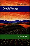 Deadly Vintage by Elaine Flinn front cover