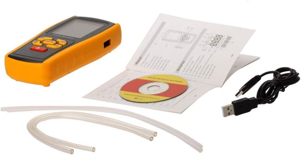 Electronic measuring equipment GM520 Min Pocket USB LCD Display Digital Air Pressure Gauge Manometro Measuring Range 35kPa
