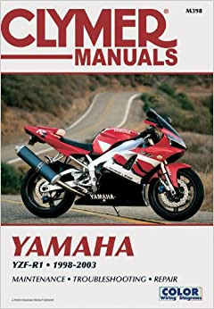 2003 yamaha r1 wiring diagram 2003 image wiring yamaha yzf r1 1998 2003 clymer color wiring diagrams penton on 2003 yamaha r1 wiring diagram