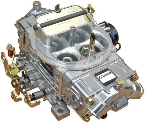 Proform 67254 Street Upgrade Series 600 CFM Polished Aluminum Dual Inlet 4-Barrel Square Bore Mechanical Secondary Carburetor with Electric Choke