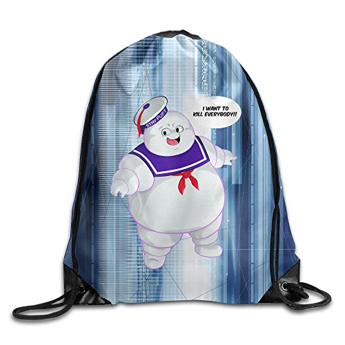 [Bro-Custom Christianimas Stay Puft Ghostbusters Unisex Backpack Brand New Size Size Key White.] (Ghostbusters Costume Homemade)