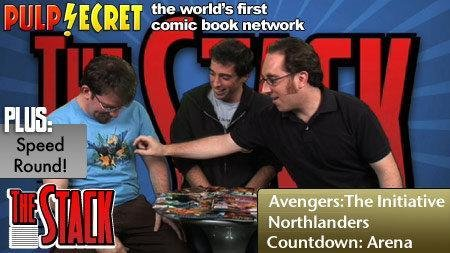 Comic Book Reviews: Avengers The Initiative Northlanders Countdown Arena