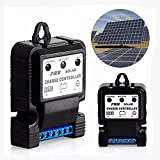 6v solar panel charge controller - Auto Solar Panel Charge Controller Battery Charger Regulator 6V 12V 10A PWM
