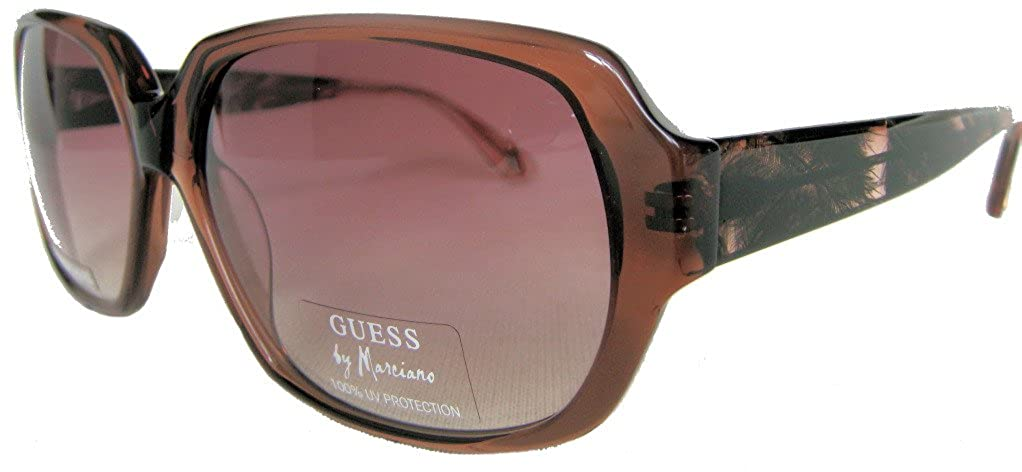 Amazon.com: GUESS BY MARCIANO Sunglasses GM 629 Brown ...