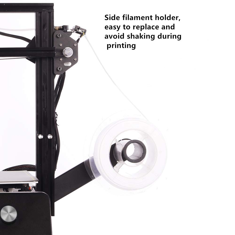 JGMAKER Magic 3D Printer DIY Kit with Filament Sensor and Resume Print Metal Base 220x220x250mm 110V US Plug