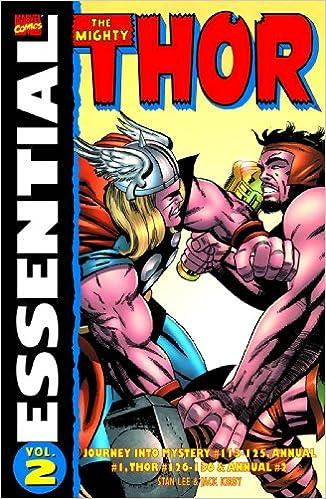 Herunterladen von E-Books zum Zünden vom PC Essential Thor, Vol. 2 (Marvel Essentials) by Stan Lee PDF