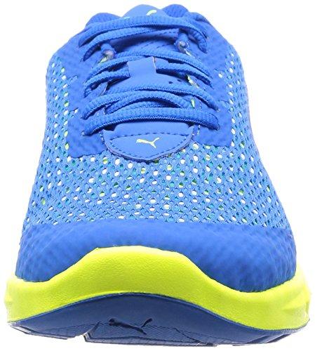 Homme Bleu Ignite Puma Ultimate Lay yellow blue Running 03 white HInWTWZ