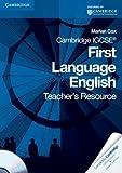 Cambridge IGCSE First Language English Teacher's Resource Book with CD-ROM, Marian Cox, 0521743699