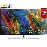 Samsung QN55Q7C Curved 55″ 4K Ultra HD Smart QLED TV (2017 Model) + 1