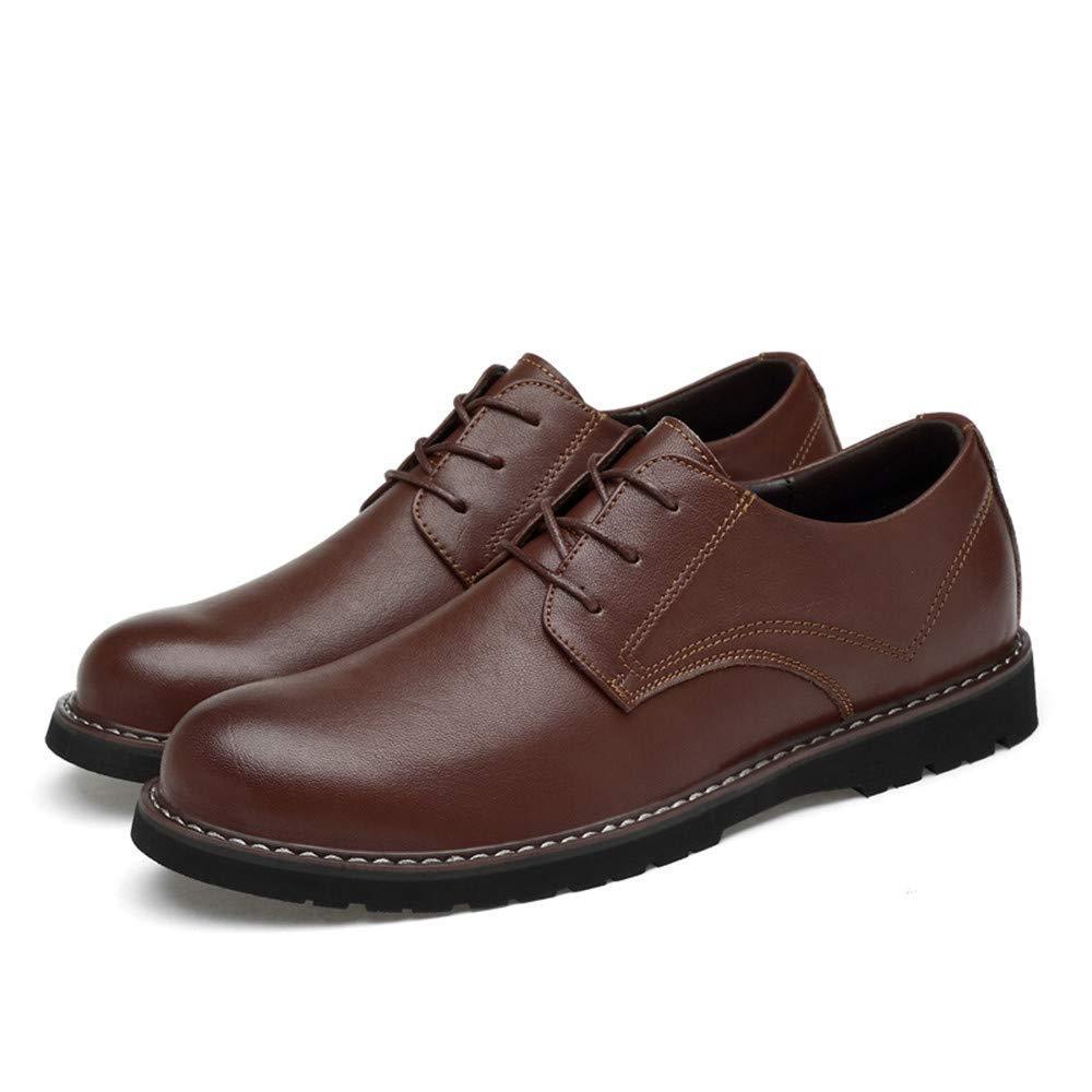 FuweiEncore 2018 Männer Soft Low Top High-End-OX Leder Oxford Business Oxford Leder Casual Klassische Formale Schuhe (Farbe   Schwarz, Größe   41 EU) (Farbe   Braun, Größe   38 EU) 64cc38