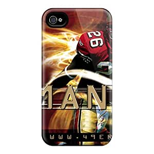 Hot Snap-on San Francisco 49ers Hard Cover Case/ Protective Case For Iphone 4/4s wangjiang maoyi