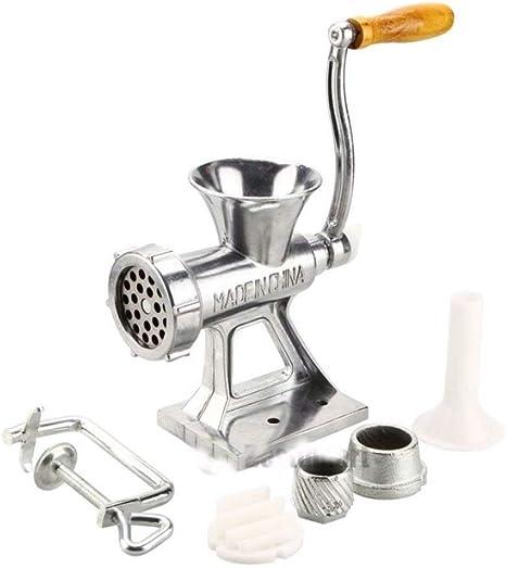 Multi Table Hand Manual Meat Grinder Mincer Stuffer Sausage Filler Maker Machine