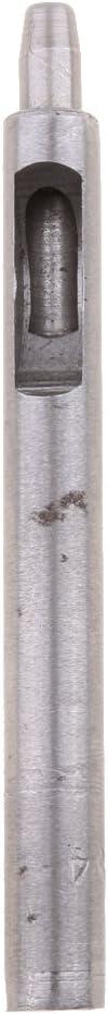 0.5mm F Fityle Poin/çon Creux Rond en Acier Outil De M/étier Rond Trou