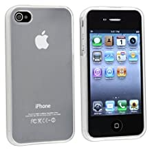 Oem Clear Flexible Tpu Gel Case For Apple Iphone 4, 4S (At&T, Verizon, Sprint)
