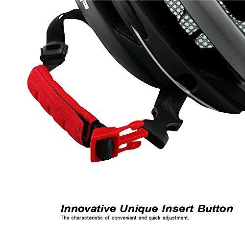 Base Camp Firewall Road Bike Helmet with Detachable Magnetic Visor Shield Goggles