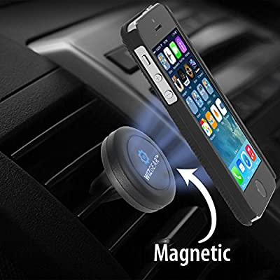 Car Mount, eLander™ Universal Air Vent Series, CellPhone Car Mount, CellPhone Holder for Car with 360° Rotate, Tilt, Swivel, for iPhone 6 6 Plus 5 5S 5C 4 4S, Samsung Galaxy S6 Edge S5 S4 S3 Note 4 3, Google, Droid, HTC, LG G3, Fire and other Mobile Ce