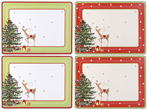 Pimpernel Christmas Jubilee Placemats - Set of 4