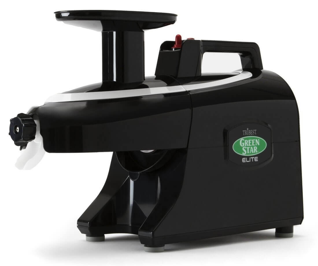 Extractor de zumo Tribest Greenstar Elite GSE5010, color negro ...