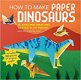 Dinosaur Papercraft Rawr origami Dinosaur and 2 More Ways to Make ... | 257x260