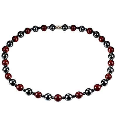collier homme aimant