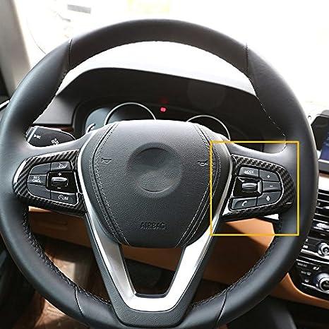 Amazon com: Carbon fiber Style ABS Plastic For BMW 5 Series
