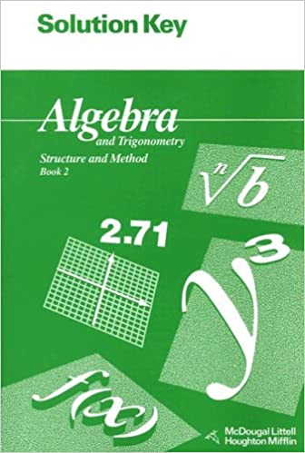 Solution key for algebra and trigonometry structure and method solution key for algebra and trigonometry structure and method book 2 mcdougal littell structure method solution manual edition fandeluxe Image collections