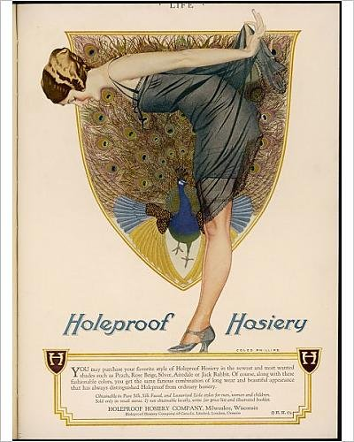 Photographic Print Of Holeproof Hosiery 1924