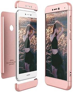 360 Funda Huawei P8 / P9 Lite 2017 Carcasa Honor 8 Lite 360 Grados ...