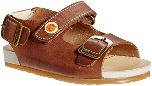- Naturino Falcotto Leather Sandal (Inf/Tod) - Bark-18 EU/2 US