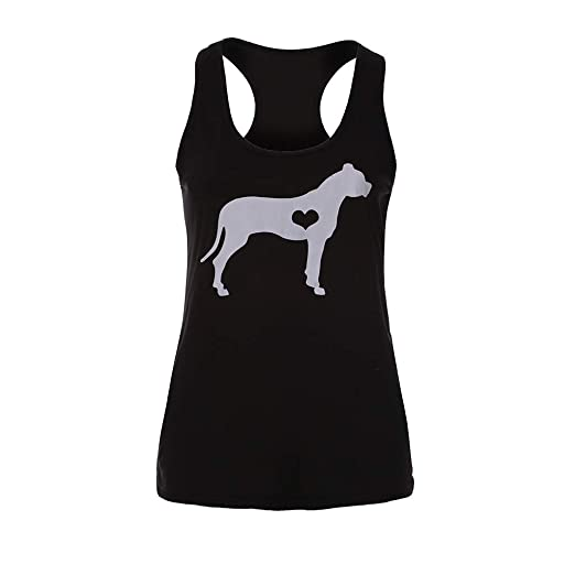 de2b3c4988c4 VEZAD Dog Print T-Shirt Womens Fashion Beach Casual Tank Top Sleeveless  Blouse Black