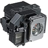 QueenYii Compatible for EPSON EX71 Replacement Projector Lamp with bulb inside
