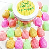 Stand Tall like a Pineapple Mini Soaps. Best friend Gift. Pineapple. Tropical Summer