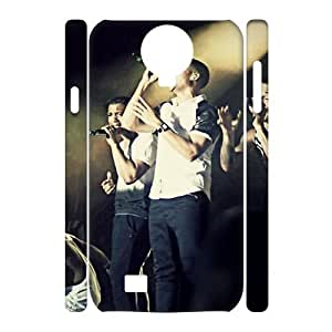 I-Cu-Le Cell phone Cases JLS Hard 3D Case For Samsung Galaxy S4 i9500