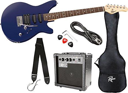 buy rogue rocketeer electric guitar pack at guitar center. Black Bedroom Furniture Sets. Home Design Ideas