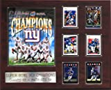 NFL New York Giants Super Bowl XLII 16 -Inch Champions Plaque