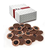 TruBuilt 1 Automotive Conditioning Disc SC-DB, Coarse 3'', Type ''R'' | Package of 25 3 inch Grinding Disks | Compare to 3M 07486 ROLOC 3'' Coarse Surface Conditioning Discs