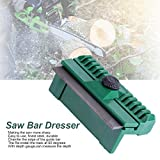 11×6×4cm Universal Chainsaw Bar Rail Dresser Fine Steel Chainsaw Chain Guide Bar Rail Dresser Lawn Garden Tool