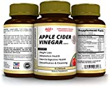 Apple Cider Vinegar Capsules – to Support Metabolism, Digestive Health, Detoxification & Cleansing – Made in USA for Gemini Supplements – 90 Day Supply