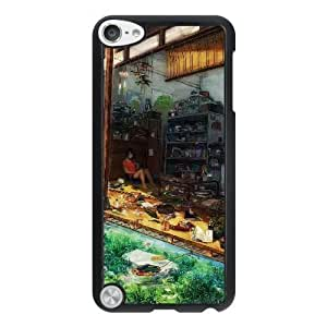 HD exquisite image for iPod 5 Case Black girl in a messy room MAI0673399