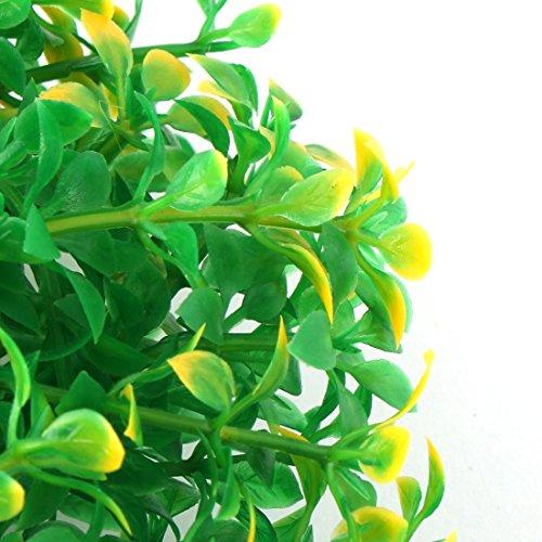 sourcingmap decorazioneazione pianta in plastica per acquario Verde